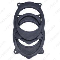 """Commercio all'ingrosso 2 pz 6x9 a 6.5 """"Auto Speaker Distanziatore Solido per Subaru Foster Adattatore Audio Pad Mat Adapter Modificato Anelli Modificati # 5523"""