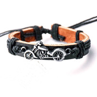 Motorcycle Wishing Tree Mens Bracelet Designer Jewelry Charm...