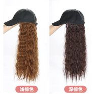 wig for women New hats and wigs all in one