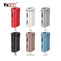 Authentic Yocan UNI PRO Mod Box Universal Mod Pré-aqueça o VV Battery For All Largura de cartuchos / atomizadores de óleo Tensão Mod Vape ajustável