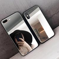 Miroir de luxe en silicone pour Xiaomi MI 9 A1 A2 Lite 9T redmi 7A 8A 5A 6A 5 Plus Remarque 8T 8 7 6 5 4 Pro 4X Placage Soft Cover