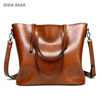 wholesale Brand Women Leather Handbags Lady Large Tote Bag F...