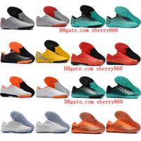 2018 botines de fútbol para mujer Mercurial VaporX VII Pro TF IC CR7 zapatos de fútbol para hombres VaporX XII Academia neymar Ronaldo botas de fútbol niños
