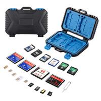 27 카드 메모리 카드 저장 케이스 TF 카드 SDHC TF에 대한 Micro SD Store Box Protector 홀더 케이스