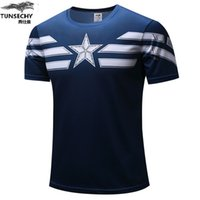 TUNSECHY Shield Flag Summer 2019 Mens Tshirt Shortsleeved Ca...