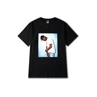 Lettre Mens Imprimer Été manches courtes en coton T-shirts occasionnels en vrac Hip Hop 2019 Nouveau Homme Mode Tops
