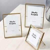 Creative Cat Bracket Metallic Glass Photo Frame Portrait Hol...