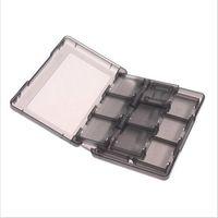 28in1 tarjetas de juego de plástico duro llevar caja de almacenamiento titular de la caja protectora para Nintendo NDS 2DS NDSL NDSI nuevo 3DS LL / XL 3DSXL / 3DSLL
