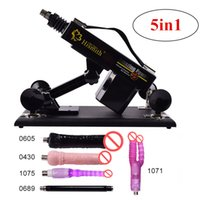 5in1 Automatic Thrusting Massager Machine Sex Gun with Dildo...