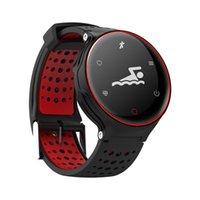 X2 Plus Wasserdichte IP68 Bluetooth Smart Uhr Blutdruck Blut Sauerstoff Pulsmesser Schrittzähler Armbanduhr Für Android iOS iPhone