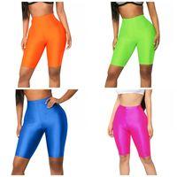 Bayan Spor Break Forts Şort Jöle Renkler Asansör Butts Yoga Giymek Pantolon Egzersiz Egzersiz Sıcak Kısa Sıkıştırma Pantolon Giyim 12YX E19