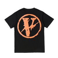Vlone T Shirt Men Women Summer Style High Quality Pop Up Pap...