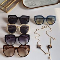 2020 kadın marka tasarımcısı Yeni modeller 0408 poliot şekil kedi gözü lunette de soleil femme lüks ve en kaliteli