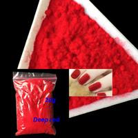 Nagelfunkeln 1 Tasche 20g Fuzzy Flocking Bunte Staub für Maniküre DIY Kunst Tipps Weihnachtsdekoration 18 Colors Samtpulver