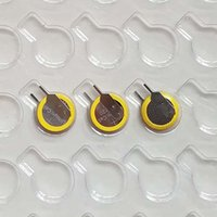 Tabs CR1220 3V Lithium-Knopfzelle CR1220-VC-Knopfzelle für PCB