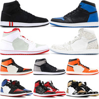Jumpman 1 Basketball Shoes TOP 3 Homage To Home Gold Toe Har...