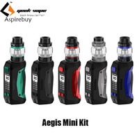 Geekvape Aegis Mini 80W TC Kit Встроенный 2200mAh аккумулятор с 9ms Quick Firing Скорость с 5.5ml Танк Innovative Mesh X2 Coil
