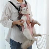 HOOPET Transportadora para gatos Pet Dog Transportadora Backpack malha externas Viagem Produtos respirável ombro sacos alça para Pequenas Dog Cats