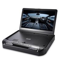 13,3 pouces OS - Système de lecteur DVD 1336D à montage sur le toit avec lecteur DVD de voiture pour transmetteur IR USB