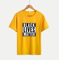 Le plus récent des femmes des hommes T-shirts avec des lettres Lives Noir Matière 20SS été T-respirante manches courtes pour hommes T-shirts Hauts Taille M-4XL