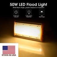 미국의 재고 50W 홍수 빛 220V LED 투광 조명 야외 모듈 홍수 조명 램프 가로 조명기구