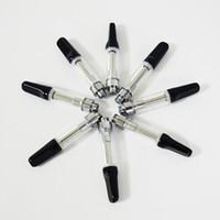 Vape Pen картриджи одноразовые испаритель ручка керамическая катушка 510 резьба картридж 0.5 мл / 1.0 мл масляные баки электронная сигарета Th205 форсунки