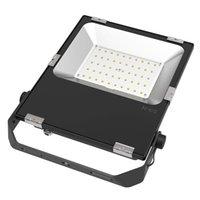 alto brillo ultra fino IP65 a prueba de agua al aire libre SMD LED Flood luz 100w 150w 200w 6000K 140lm / w AC86-265V