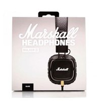 New Marshall Major II 2nd Generation headphones With Mic Noi...