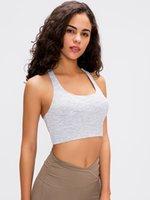 Frauen, die Yoga Fitness ENERGY BH Outfit Langzeile Online Nur aktive Sportbekleidung Weibliche Trainingsgymness-Gymnastikbrassierer-Sportgurte
