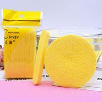 Neue Kosmetische Puff Compressed Reinigungsschwamm Gesichtsreinigung Waschen Pad Entfernen Make-up Hautpflege Für Gesicht Make-up Epacket