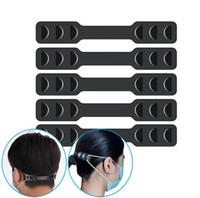 Máscara Facial Banda Extensores máscara cinta elástica Ajustador proteger sua orelha romper Dor Máscara Belt gancho ajustável Strap Extension DHL livre