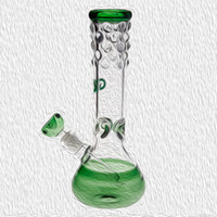 27cm Tall Glass Bong with Downstem bowl 14. 4mm  18. 8mm Joint...