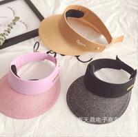 00599ad5f Summer Outdoor Cowboy Hat Folding Belt Buckle Straw Beach Solid ...