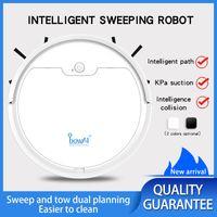 Obowai Aspirateur OB8S 3in1 Sweeper pour la machine de ménage Machine de nettoyage Balayant Robot Drag Tampon Électronique Tampon