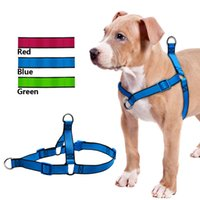 No Pull Dog Harness Length Adjustable Step In Walking Pet Ha...