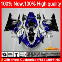 Body + 8Gifts For YAMAHA YZF600 YZF R6 600CC YZFR6 03 04 05 5...