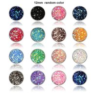 8mm 12mm Nice handmade resin round druzy earrings trendy sim...