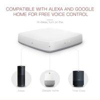 ZigBee Smart WiFi à la maison passerelle Surveillez votre partout et à tout moment à la maison pourrait contrôler à distance par téléphone via Tuya APP