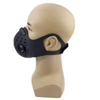 KN99 / 5 Máscaras Ciclismo Carvão Ativado Poeira Airsoft Tactical Máscara Facial mascarar Anti-Poluição da bicicleta Outdoor Training rosto (Gray)
