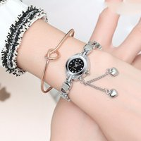 Heart- shaped Bracelet Watch Ladies Models Waterproof Quartz ...