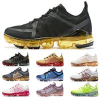 Tasarımcı Run Yardımcı Erkek Kadın Ayakkabı Koşu CPFM 2019 Artı Üçlü Siyah Altın CNY Oreo Volt Mens Eğitmenler Sneakers Ücretsiz Kargo