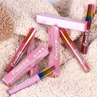 CmaaDu Labios Maquillaje 6 brillo de los colores del tirón del diamante brillo de labios de terciopelo mate Labial Líquido impermeable y dura más tiempo del reflejo del líquido del lápiz labial