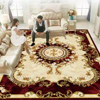 Nuovo vendita- lusso europeo Super Soft Style Stampato tappeto antiscivolo non sbiadiscono prezzo più basso Tappeto per soggiorno zerbino