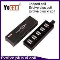 Evolve Plus XL cargado bobina Dual QUAD Quatz bobinas para Evolve Plus XL cargado cera Pen Kit 0266167-1