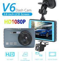 3,6 pouces DVR écran LCD V6 caméra de voiture caméra HD 1080P DASHCAM Enregistrement Enregistreur vidéo numérique