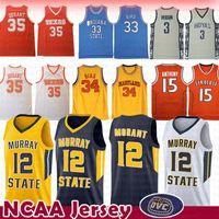 5d784f690d84b Wholesale basketball jersey online - 12 Ja Morant Larry Bird Anthony Jersey  Len Bias Kevin Durant