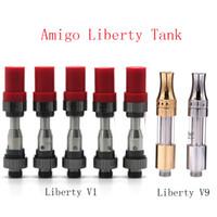 100% Original Itsuwa Amigo Liberty Cartouche V1 V9 Réservoir En Verre pour Huile Épaisse Aucune Fuite Authentique Livraison Gratuite