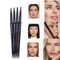 Schönheit glasierte Augenbraue Bleistift wasserdicht natürliche doppelte endete super schlanke lang anhaltende Augenbrauenstift Tatoo Makeup Schönheit kosmetisch