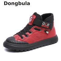 Spring kids Genuine Leather Shoes For Boys Flat Wedding Shoe...