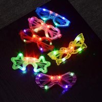 verres lumineux conduit aveuglante yeux papillon Vente chaude Jouets pour enfants de gros